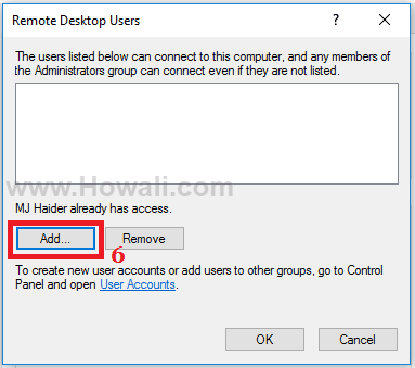 Turn on Remote Desktop Connection in Windows 10
