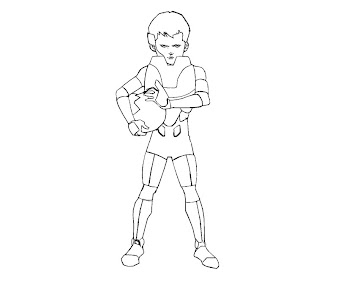 #1 Enders Game Coloring Page