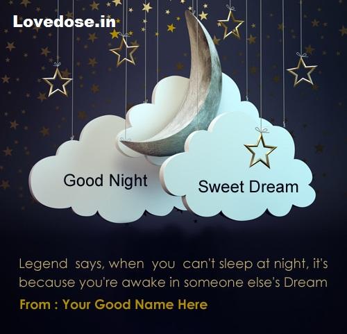 heart touching sweet dreams image