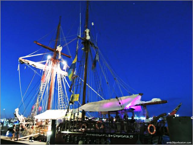 Rowes Wharf en el Puerto de Boston: Atyla