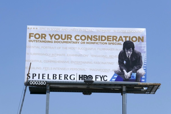 Spielberg HBO 2018 Emmy nominee billboard