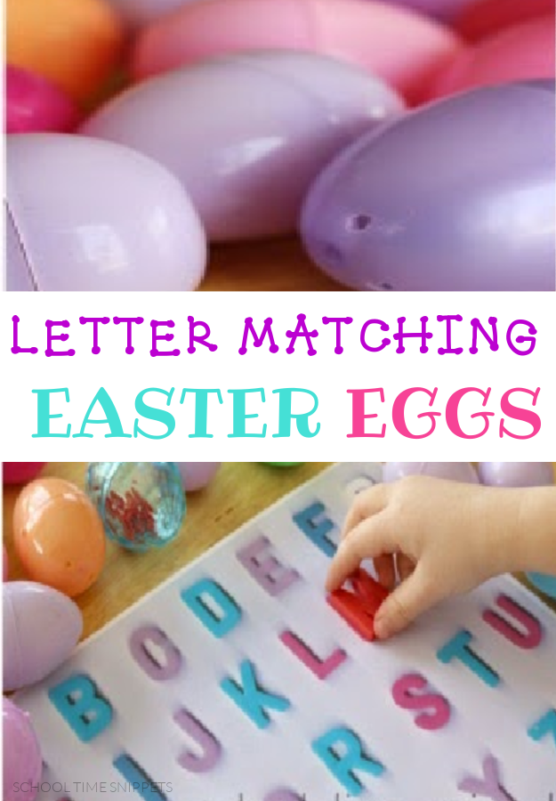 LETTER MATCHING EASTER EGGS