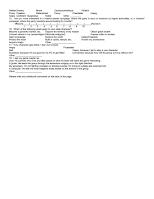 Questionnaire Page 2