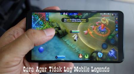 Cara Simpel Biar Tidak Lag Parah Ketika Bermain Ml (Mobile Legend) 1