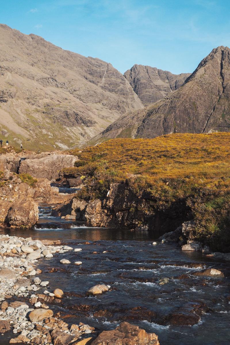 Découverte des Fairy Pools sur l'île de Skye en Ecosse