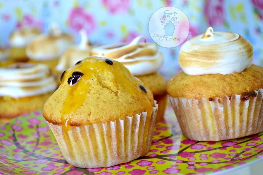Cupcakes de Fruta de la Pasión, Maracuya, parchita