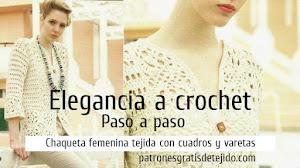 🧡 Chaqueta Crochet Paso a Paso 🧡