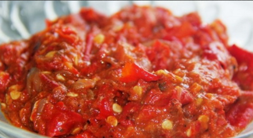 Resepi Sunda sambal paste
