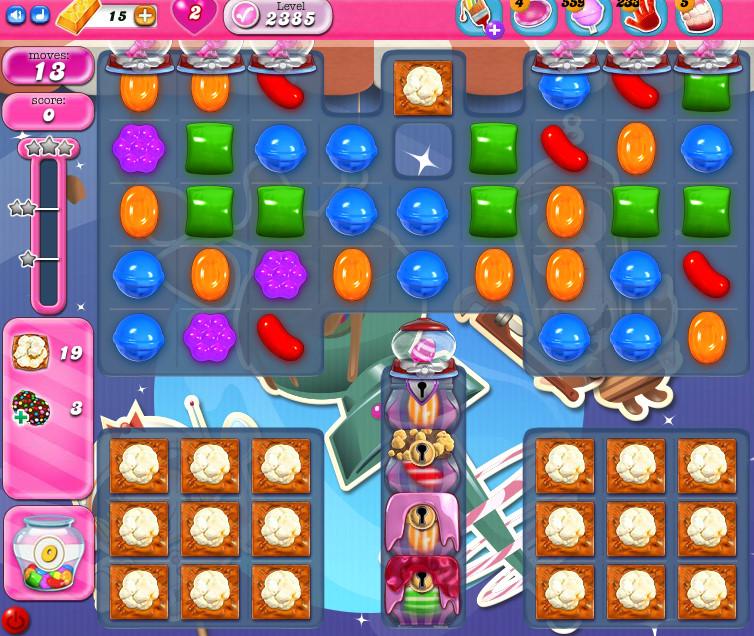 Candy Crush Saga level 2385