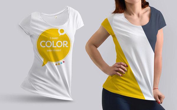 Girl Mock-Ups T-Shirt