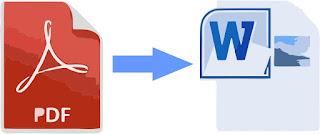 Mengubah PDF ke Word Tanpa Software dengan Cara Mudah