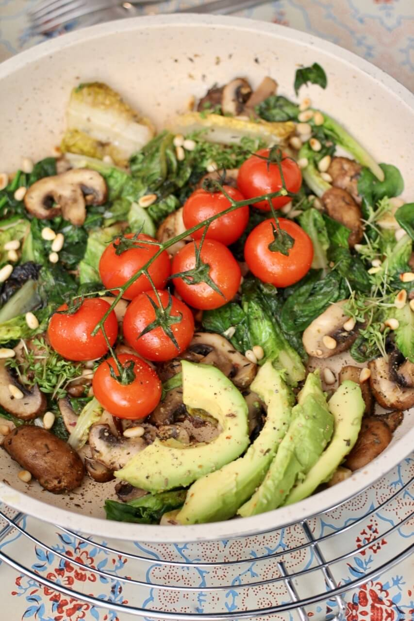 Rezept Gemüsepfanne