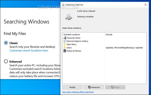إخفاء ملفات أو مجلدات محددة من نتائج البحث في ويندوز 10 hide-files-from-windows-search Annotation%2B2020-03-15%2B202150
