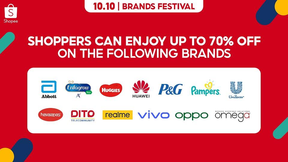 Shopee Brand Festival Sale