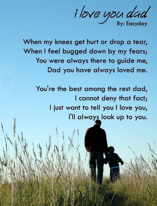 Meaning Poems About Father's Day From Daughters