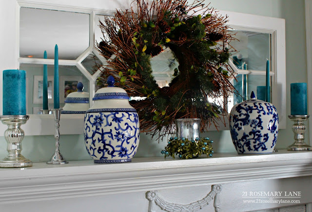 21 Rosemary Lane Winter Decor With Color