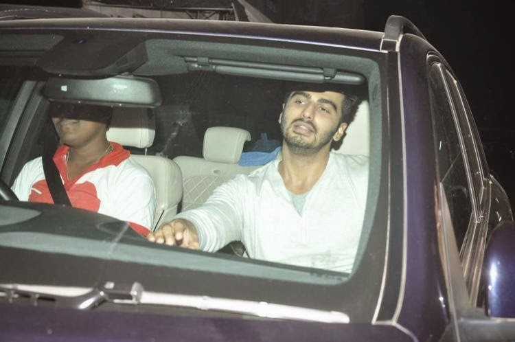 Ranveer Singh and Arjun Kapoor visit Chandan theatre