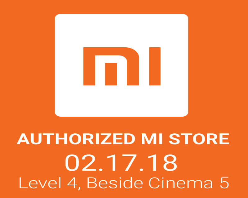 Xiaomi Official Store is now open at Trinona Mall Quezon City