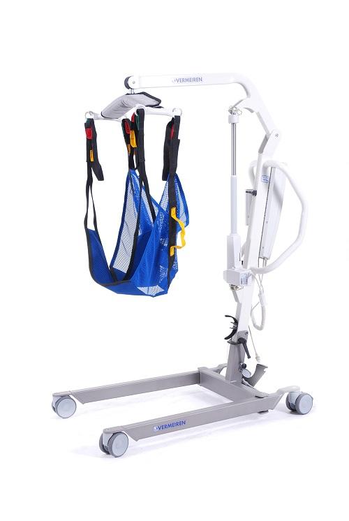 Podnośnik pacjenta transportowo - kapielowy
