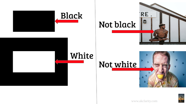 Referring to people as black and white should be banned