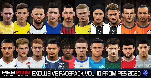 PES 2019 PC Exclusive Facepack Volume 10 By Sofyan Andri