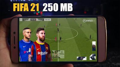 لعبة فيفا 21 بدون نت للاندرويد مود FTS 21