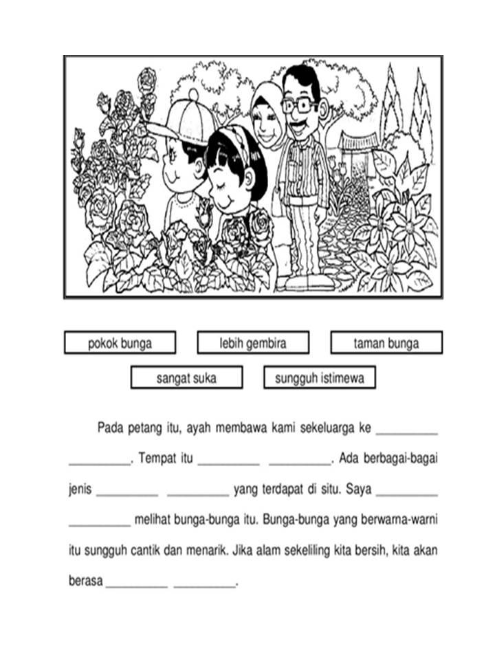 Bicara Kehidupan Bahasa Melayu Penulisan Tahun 3 Cute766