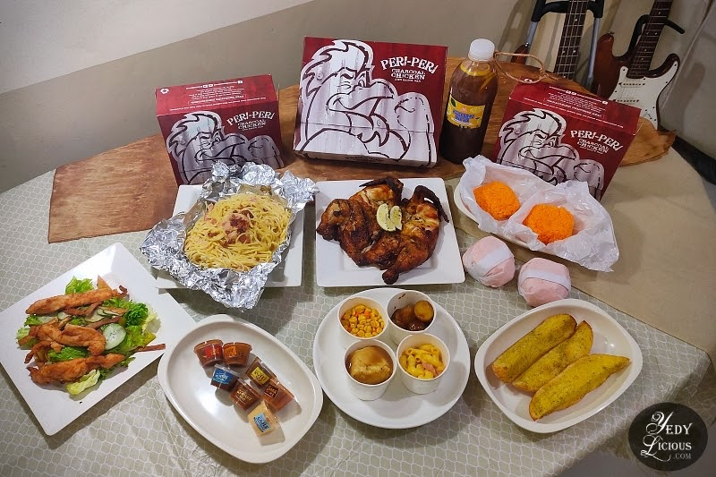 Peri-Peri Charcoal Chicken & Grill Philippines Peri Grupo Feast Blog Review