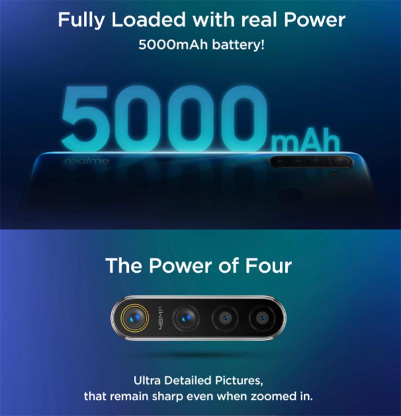 5,000mAh big battery, good zoom camera performance?