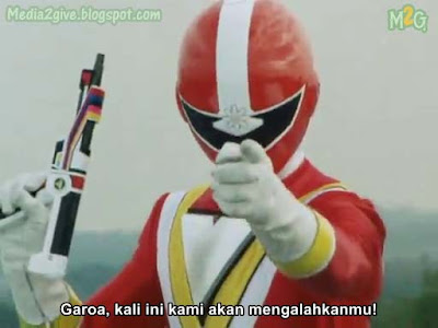 Chikyuu Sentai Fiveman Ep 2 (Subtitle Indonesia)