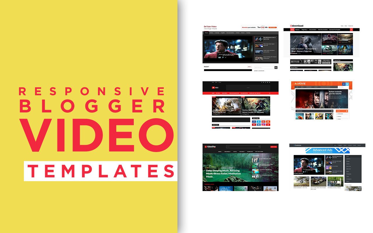 Video Blogger Templates