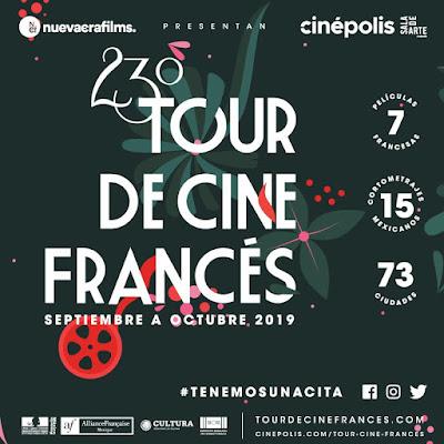 Presentación del Cineminuto 23º Tour de Cine Francés.