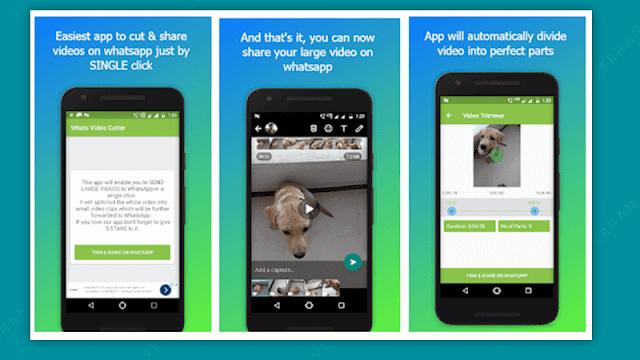 aplikasi potong & bagikan video terbaik untuk whatsapp
