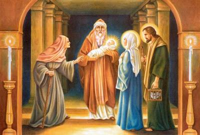 """COMUNITA' ECCLESIALE DI SICULIANA - Festa della Presentazione di Gesù al Tempio """"Candelora"""""""