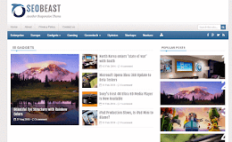 SeoBeast Media blogger template