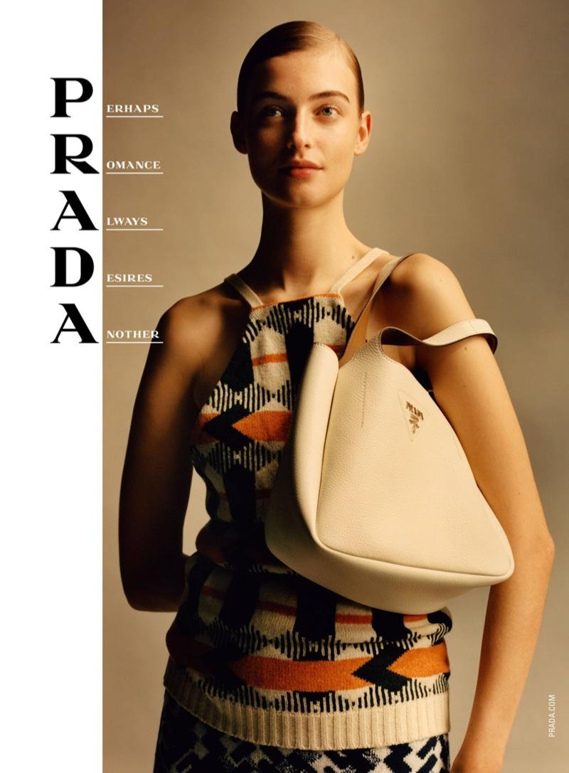 Berit Heitmann fronts Prada spring-summer 2020 campaign