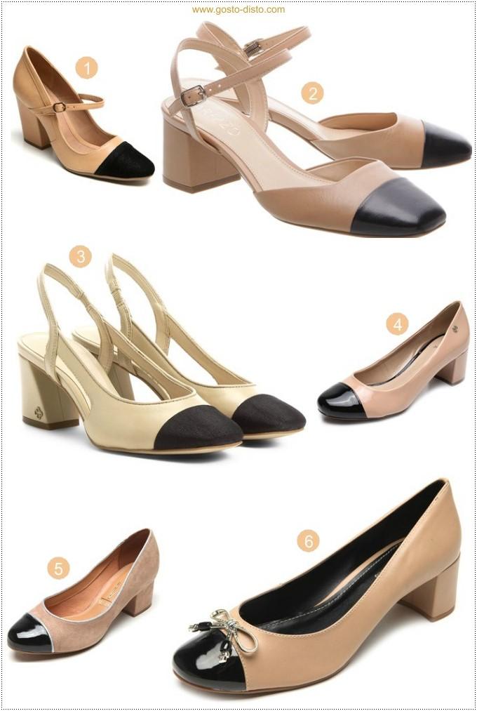 Como usar sapato chanel bicolor