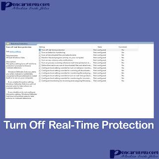 Cara Cepat Mematikan Windows Defender