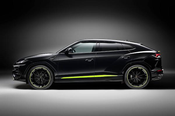 Lamborghini Urus ganha versão Graphite Capsule - fotos