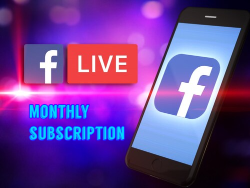 Get More Facebook Live Stream Viewers Monthly subscription