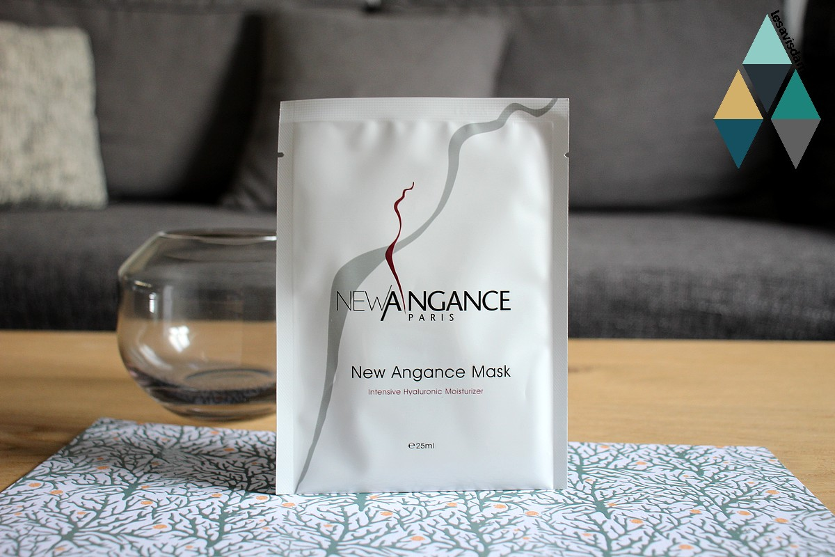 avis et test masque visage hydratant acide hyaluronique new angance