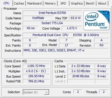 Melihat spesifikasi komputer Menggunakan software CPU-Z