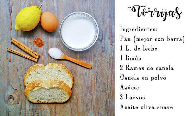 receta torrijas recipe