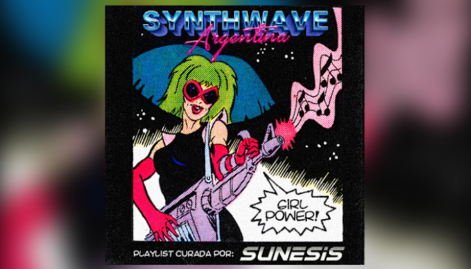 Synthwave Argentina: Girl Power - Playlist de Spotify