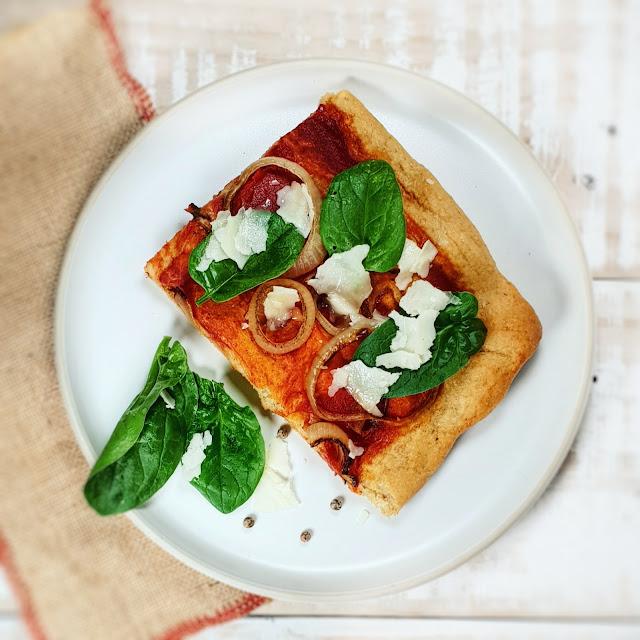 Pizza à la farine de KAMUT