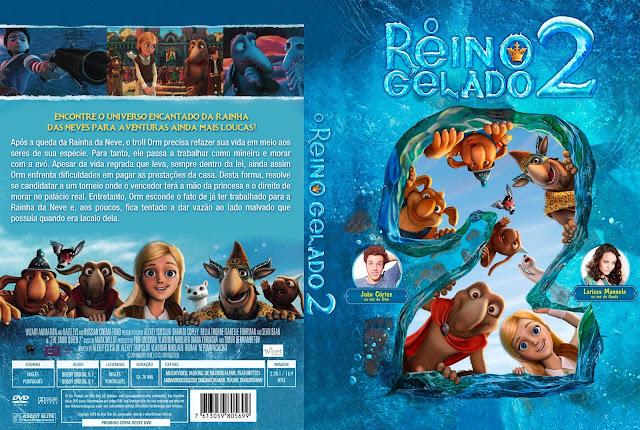 Capa DVD O Reino Gelado 2