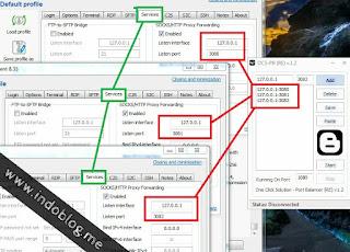 Cara Setting Multi SSH Multi VPN Dengan OCS-PB