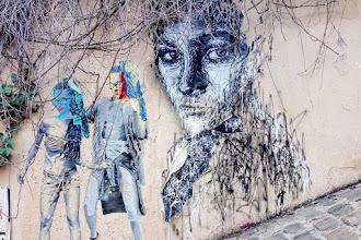 Sunday Street Art : Nasti 404 - rue du Calvaire - Paris 18