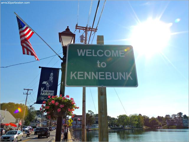 Bienvenidos a Kennebunk, Maine