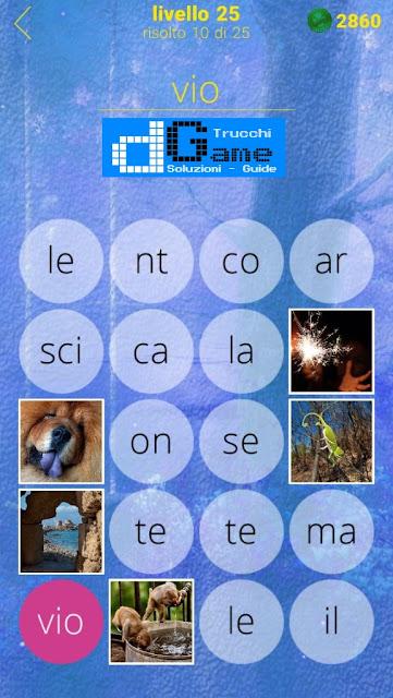 650 Foto soluzione pacchetto 25 livelli (1-25)